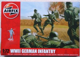 Airfix 1/72 AX00705 German Infantry (WW2)